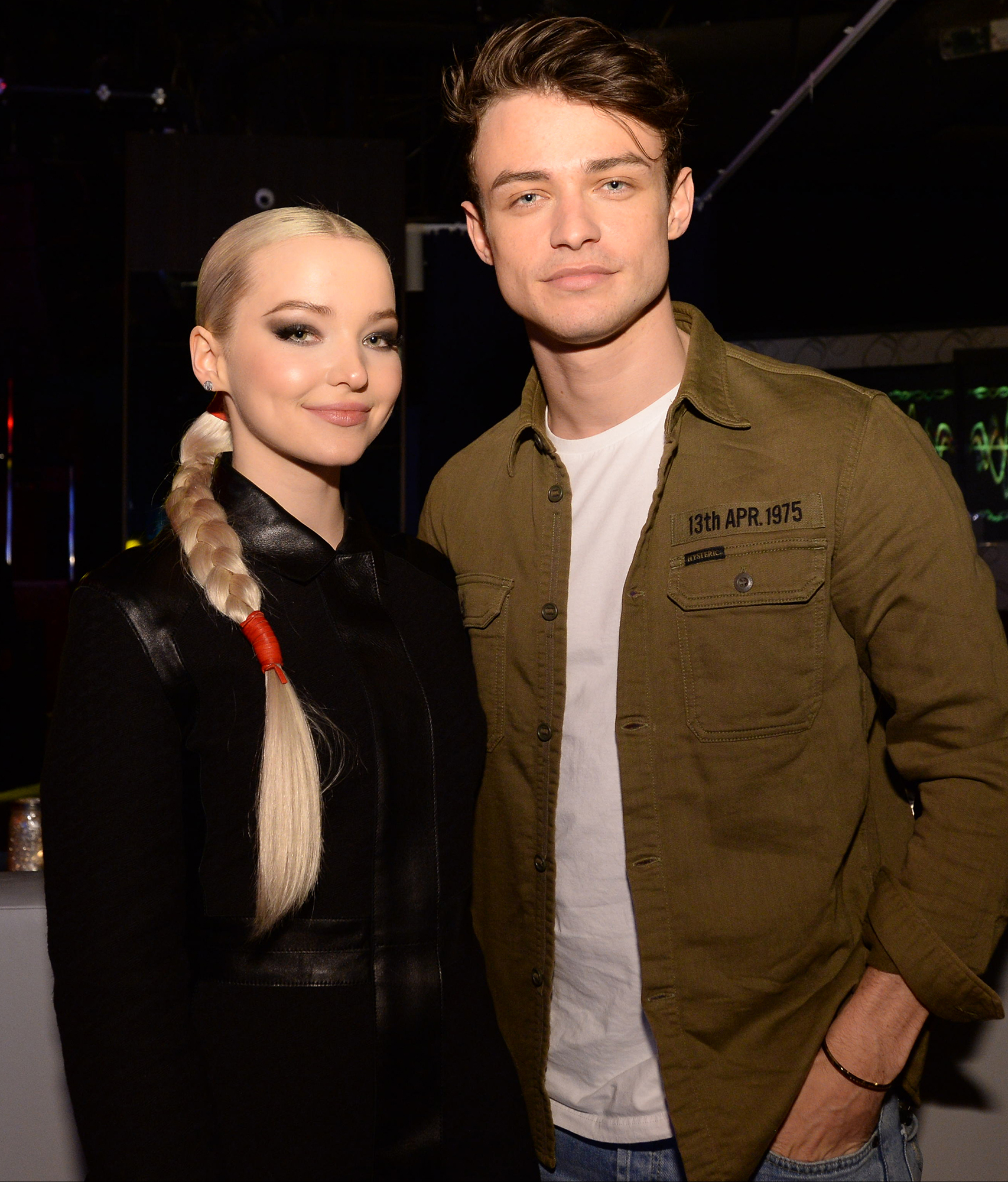 Dove Cameron and Thomas Doherty Start Filming Two Wolves Movie