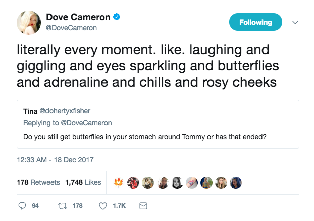 dove thomas tweet