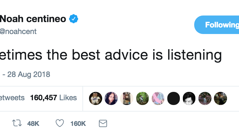 Noah Centineo Love Advice, As Told By His Tweets