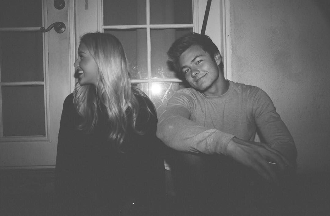 peyton meyer girlfriend post