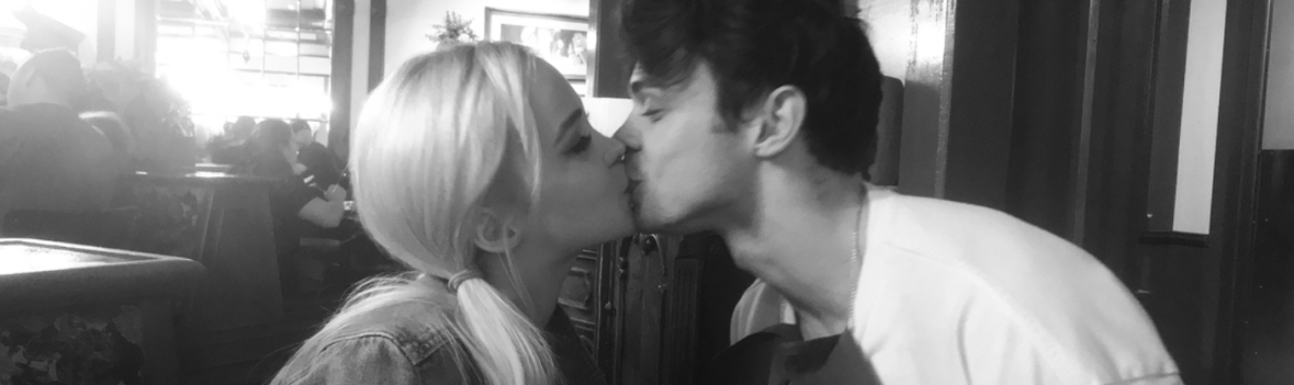 dove cameron thomas doherty kissing