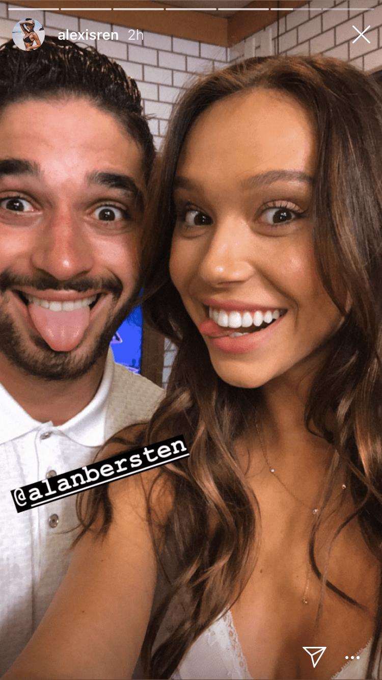 alexis and alan selfie