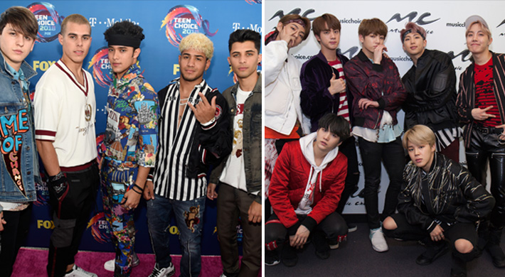 CNCO Talks Rivalry With BTS, In Real Life, PRETTYMUCH, And More