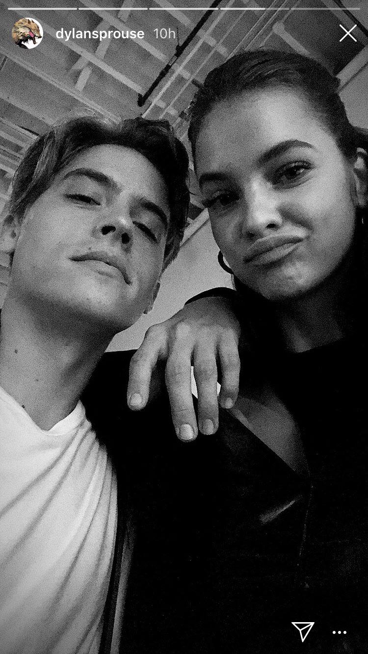 dylan and barbara selfie