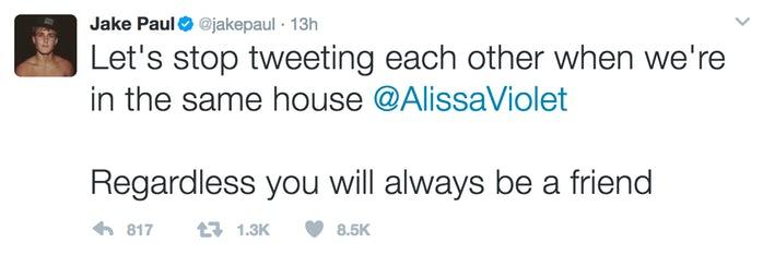 jake paul deleted tweet 2