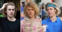 Justin Bieber long hair