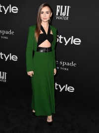 Lily Collins InStyle Awards