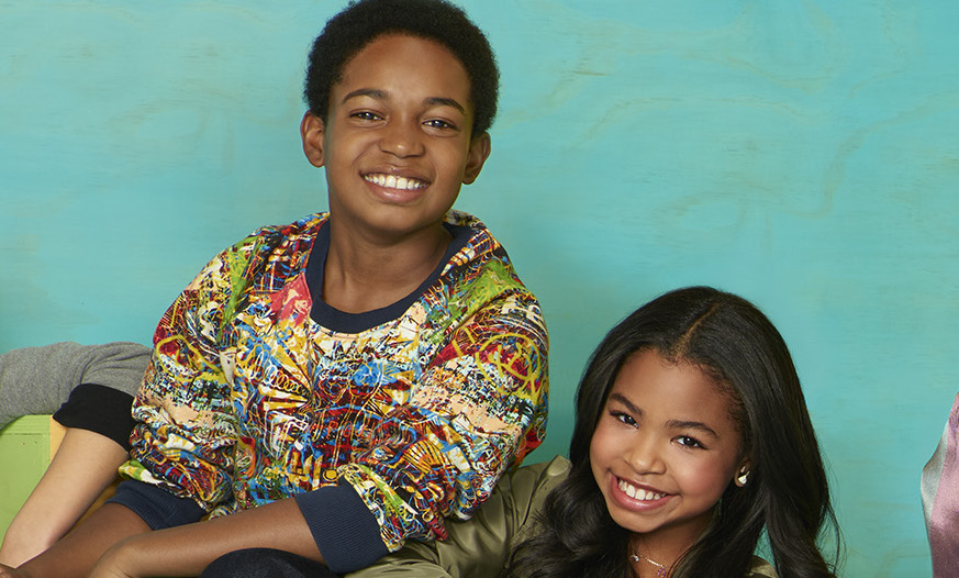 Navia Robinson And Issac Brown Play Disney Channel Impressions