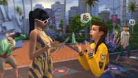 Sims Get Famous