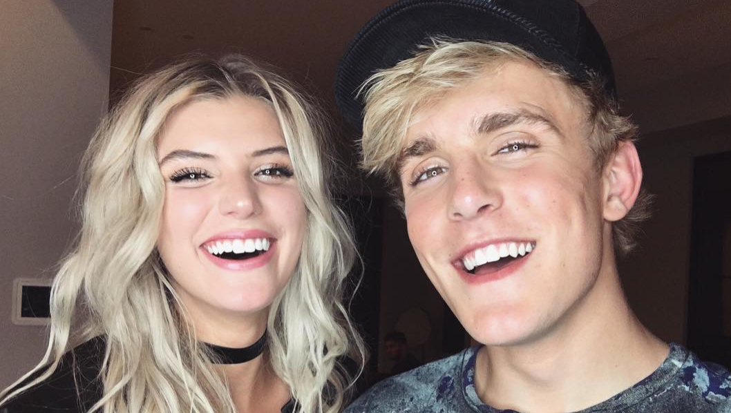 Alissa Violet and Jake Paul