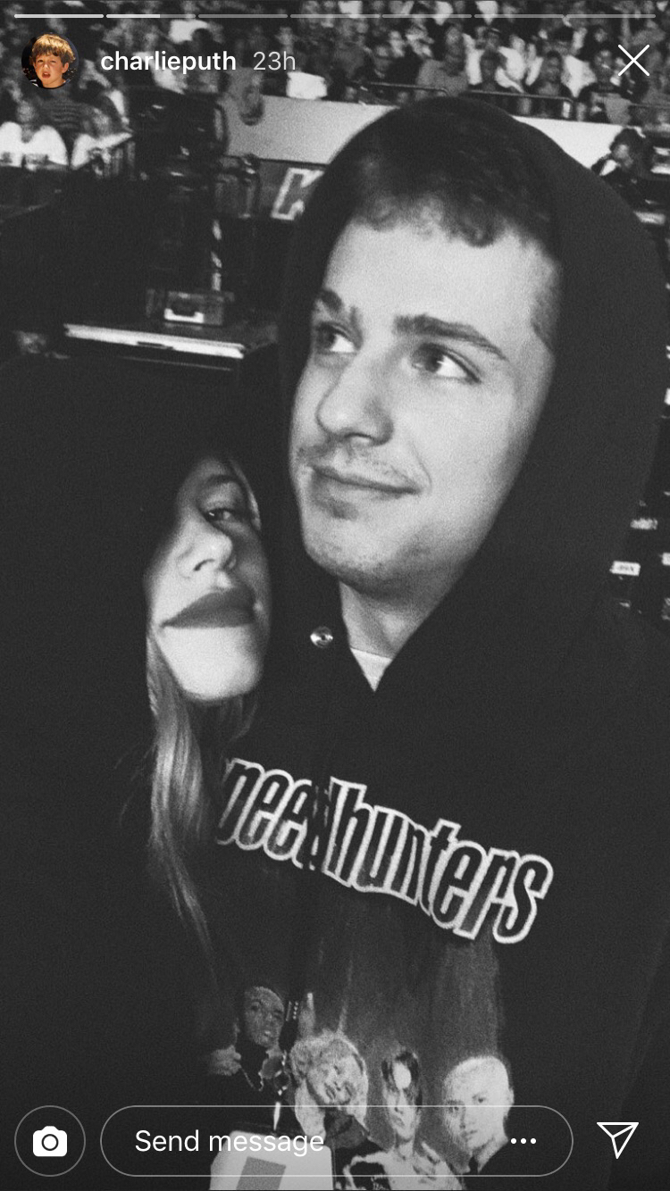 charlie and halston selfie