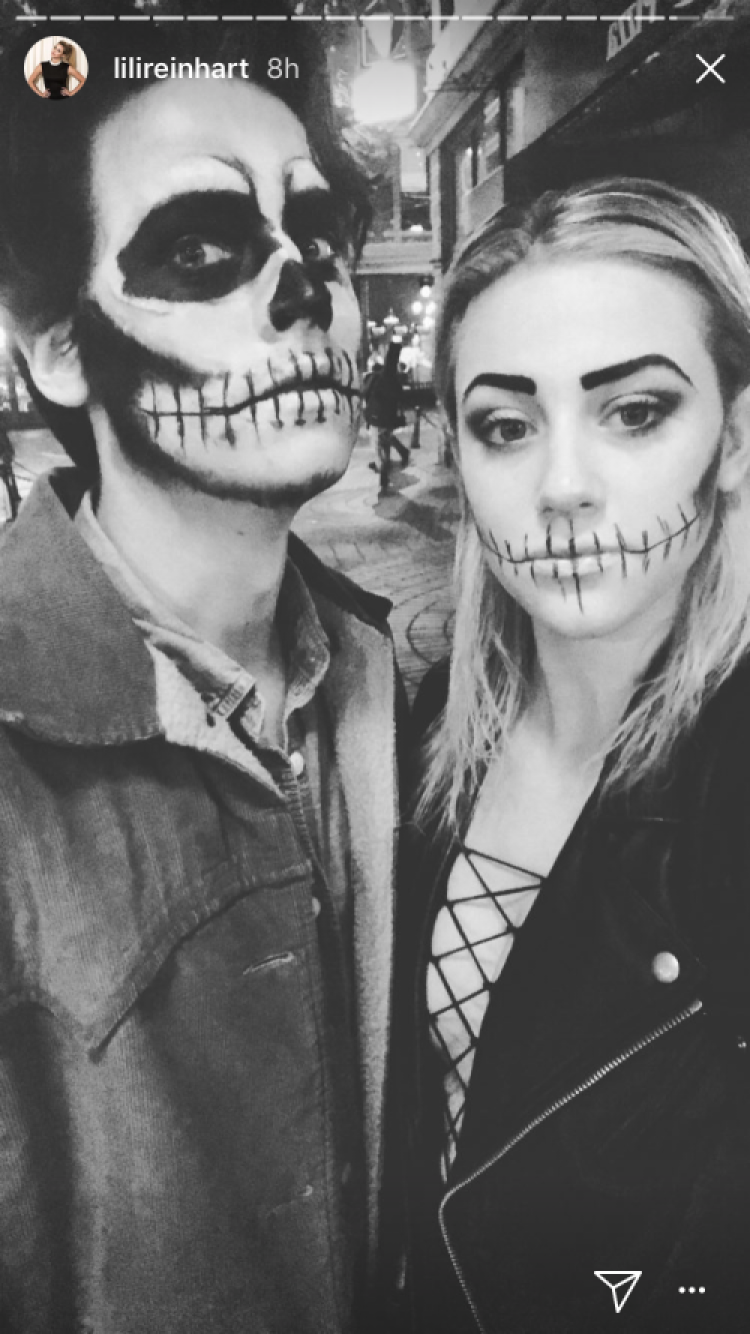 cole sprouse lili reinhart halloween 2017