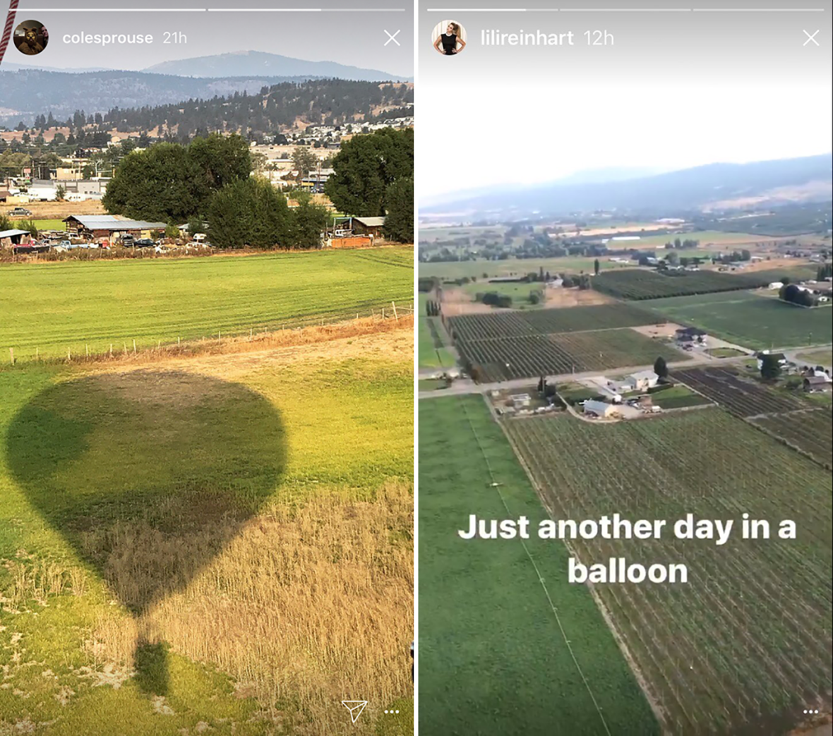 cole and lili hot air balloon