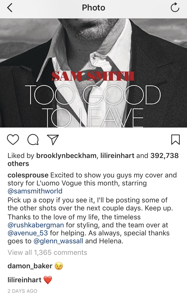 cole lili instagram