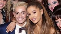 Frankie and Ariana Grande
