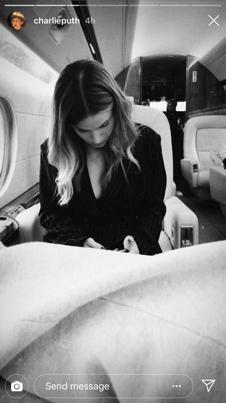 halston sage charlie puth instagram