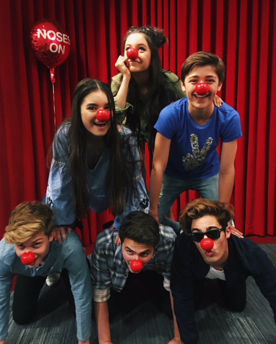 jenna and asher red nose day
