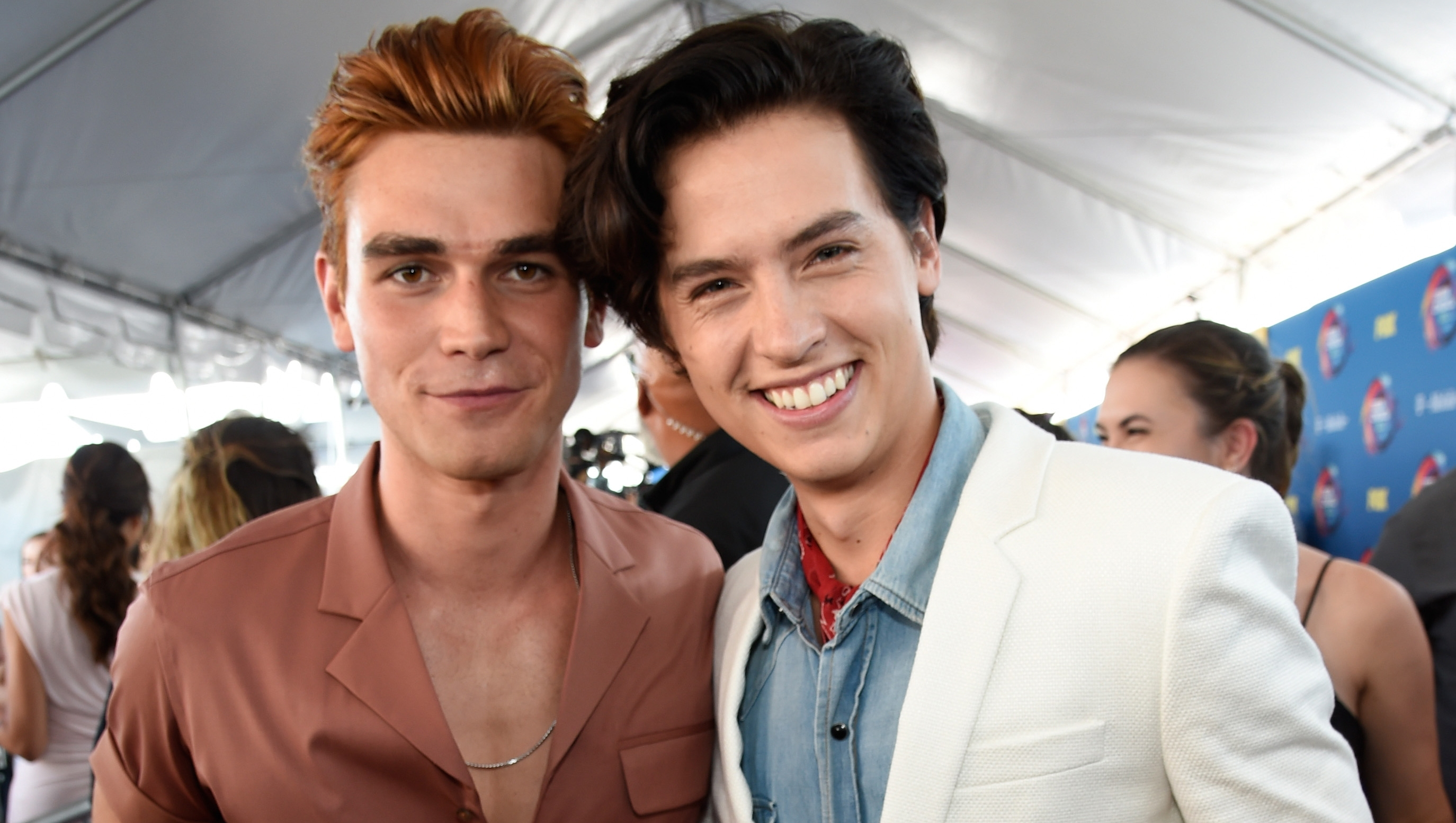 KJ Apa and Cole Sprouse