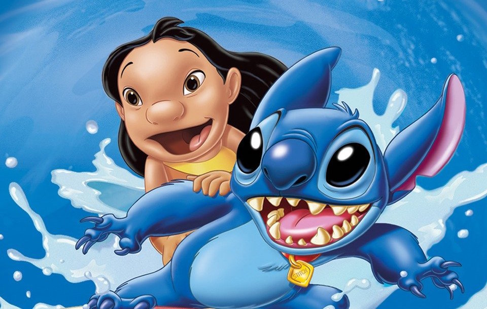 It is a picture of Epic Lilo & Stitch Picture