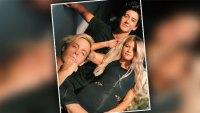 Milo Manheim Whitney Carson Riker Lynch DWTS Practice Selfie
