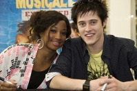 Monique Coleman and Lucas Grabeel