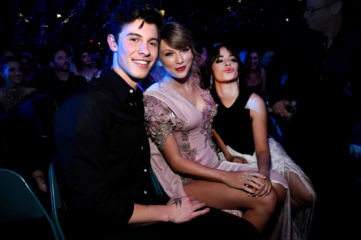 shawn mendes taylor swift camila cabello