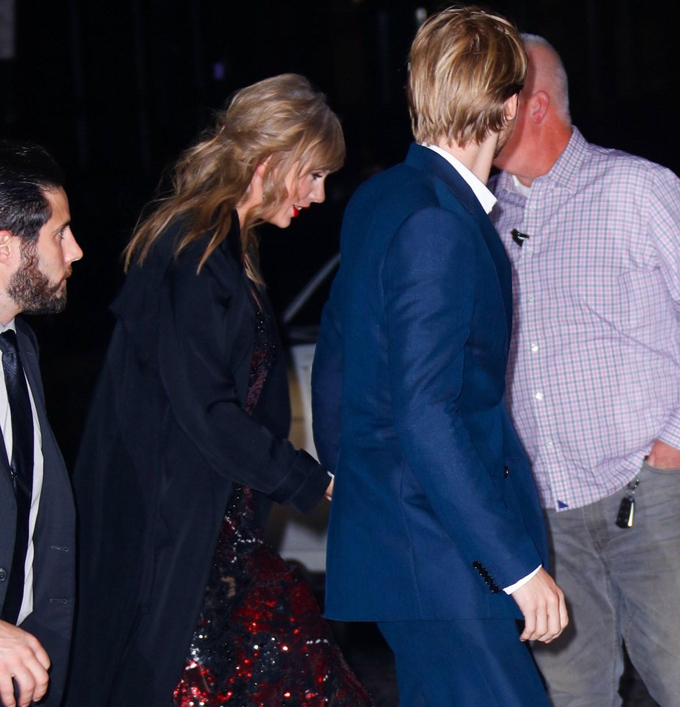 taylor and joe walking