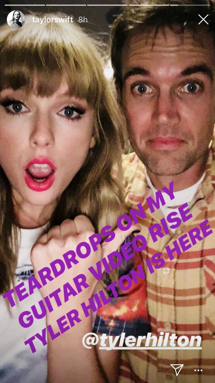 taylor swift and tyler hilton 2018