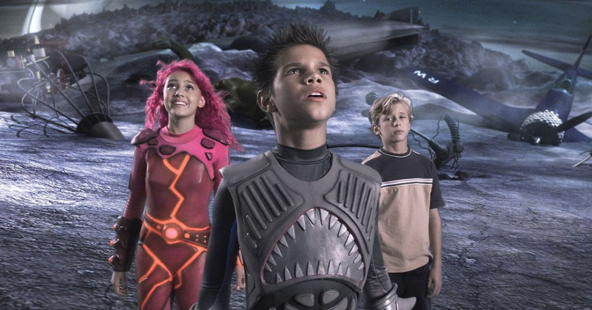 Taylor Lautner Wants a Sharkboy and Lavagirl Reboot Movie