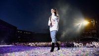Ariana Grande Crying One Love Manchester Concert