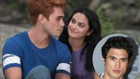 Charles Melton Watches Camila Mendes Kiss KJ Apa