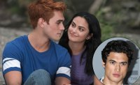 Charles Melton Watches Camila Mendes Kiss KJ Apa