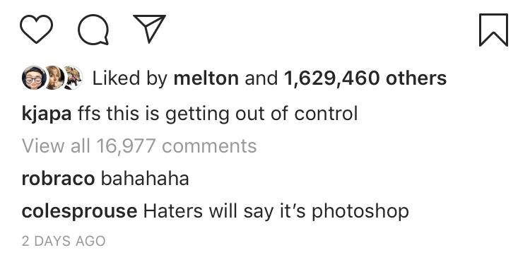 Cole IG Comment
