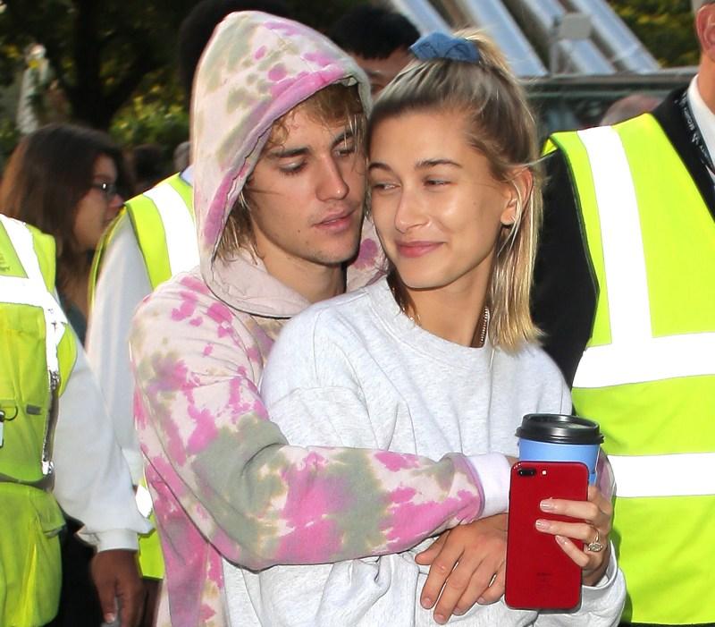 Justin Bieber Hugging Wife Hailey Baldwin