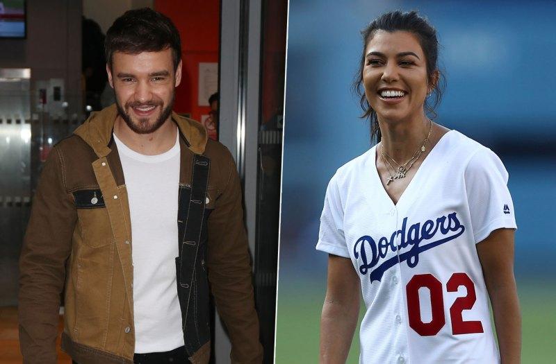 Liam Payne Flirting With Kourtney Kardashian