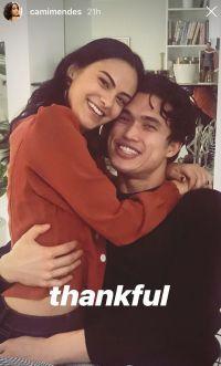 Camila Mendes Charles Melton Thanksgiving