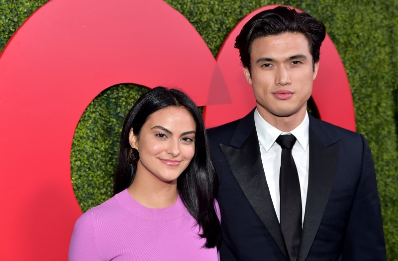 GQ-Men-of-the-Year-Party-Camila-Mendes-Charles-Melton-red-carpet