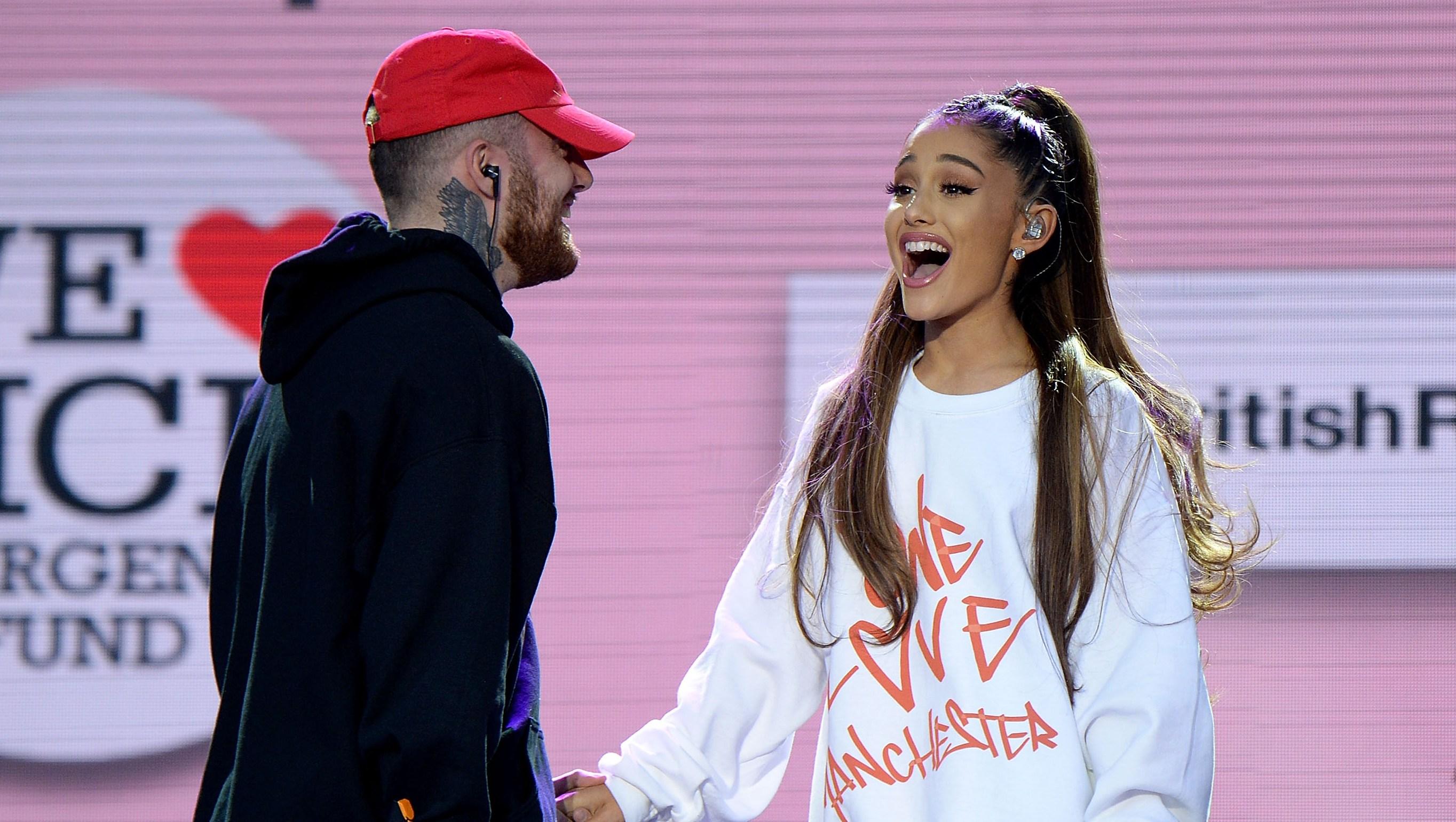Ariana Grande Mac Miller