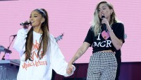 Miley Cyrus Ariana Grande Friendship
