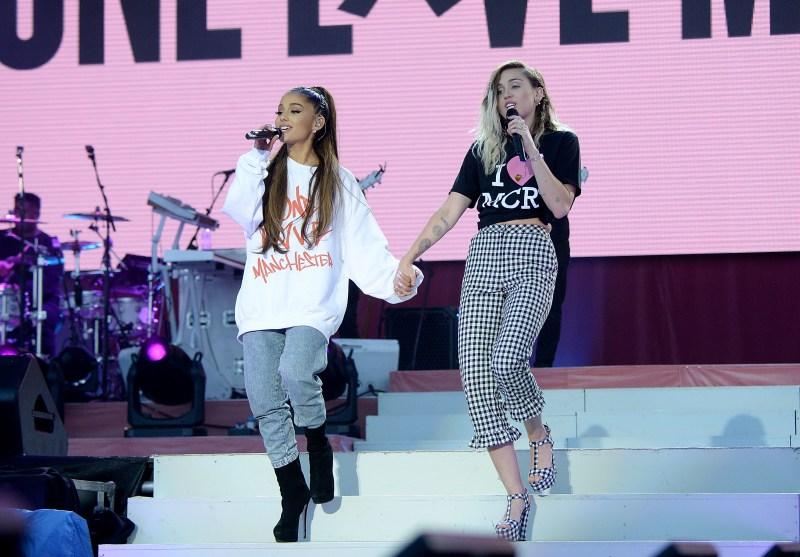 Miley Cyrus Ariana Grande Friendship