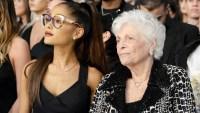 Ariana Grande and Her Nonna