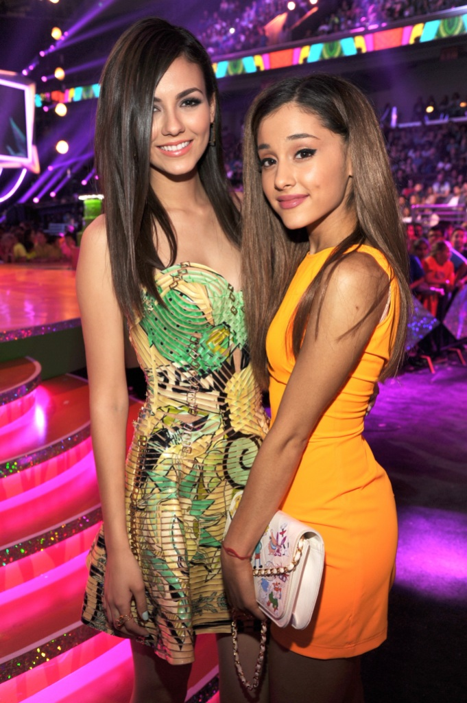 Ariana Grande Victoria Justice Feud