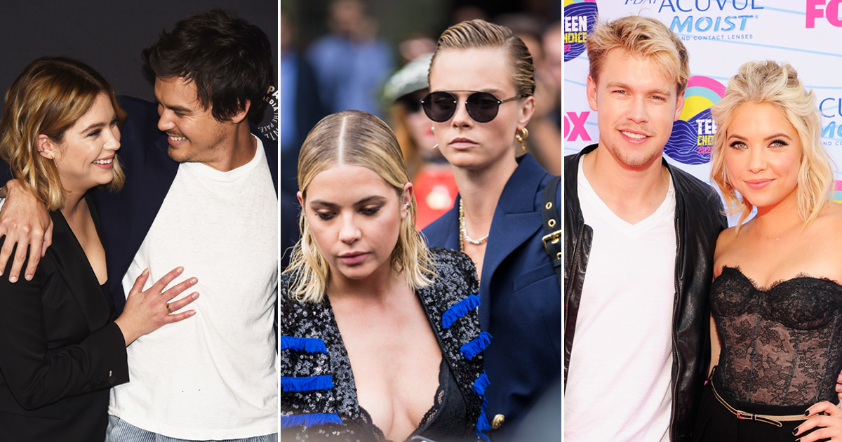 ashley benson who is she dating