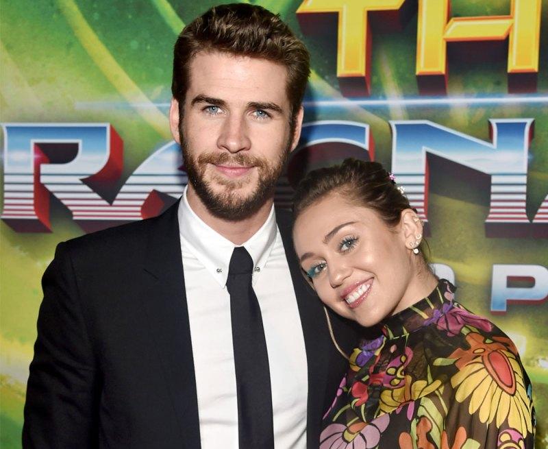 Celebrities React To Miley Cyrus Liam Hemsworth Wedding