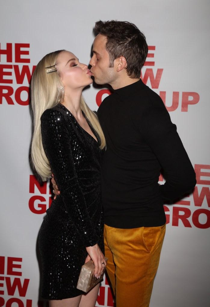 Dove Cameron Kisses Costar Thomas Doherty