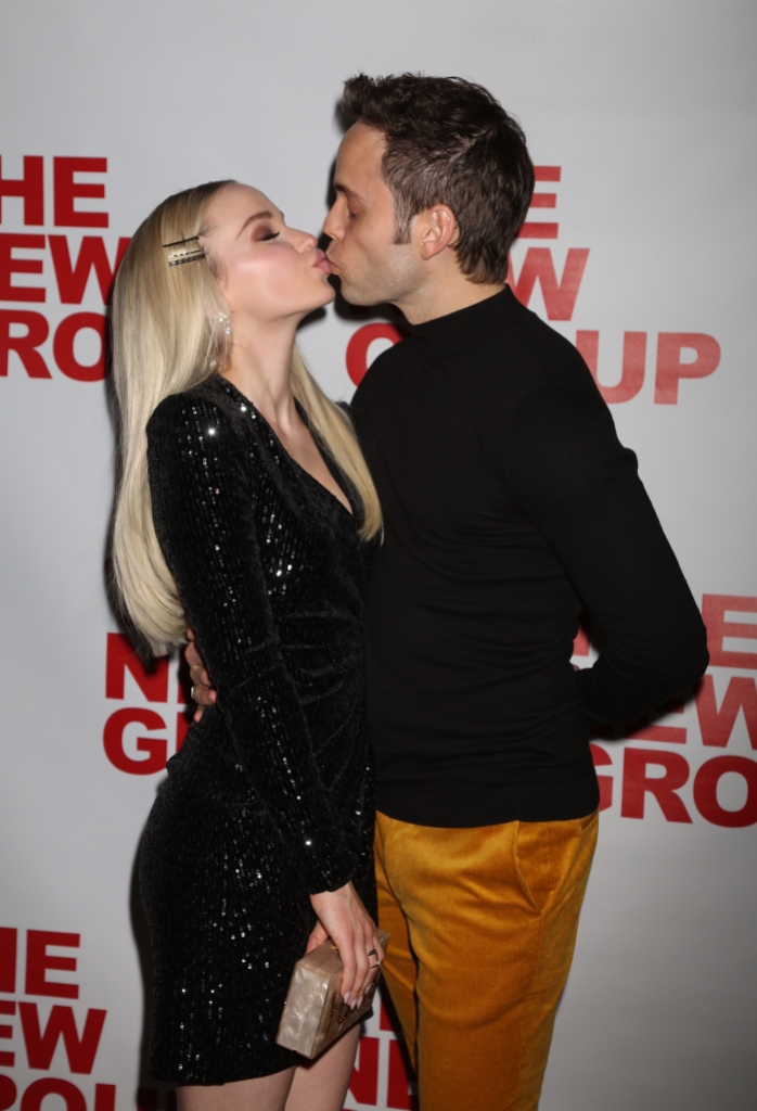 Dove Cameron Kisses Costar Thomas Doherty