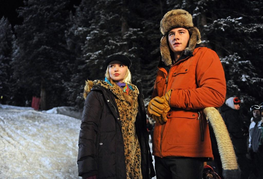 Dove Cameron and Luke Benward in Disney Channel's Cloud 9