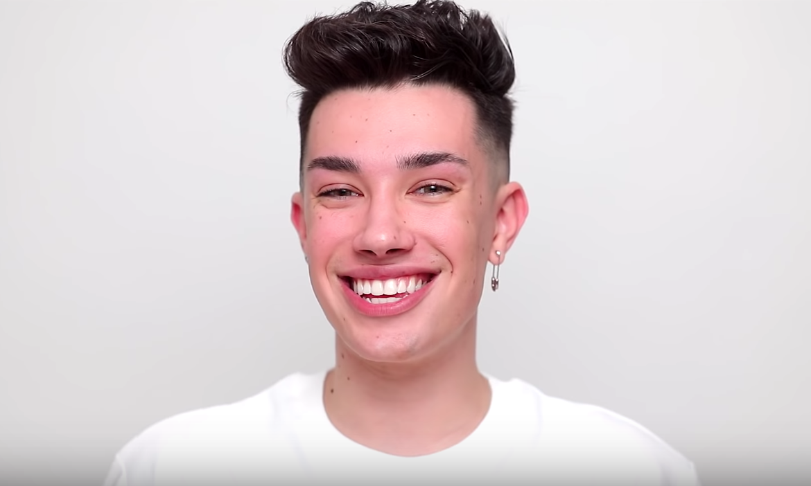 James Charles With No Makeup Youtuber S Fresh Faced Selfies