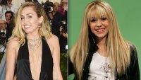 Miley Cyrus Hannah Montana Reference