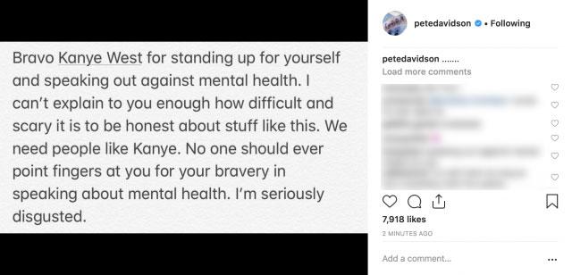 Pete Davidson Instagram